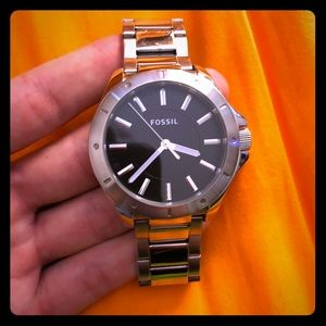 Men's Stainless Steel Fossil Watch